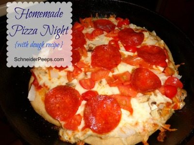 SchneiderPeeps - Whole Wheat Pizza Dough recipe