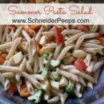 SchneiderPeeps - Summer Pasta Salad