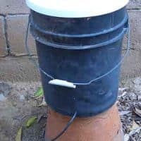 Do It Yourself Bucket Drip Irrigation