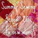 Summer Sewing School {make a lined tote bag}