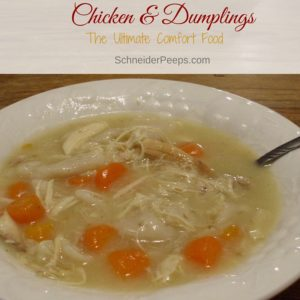 Chicken and dumplings are the ultimate comfort food and with a few ticks are really easy to make. If dumplings aren't your thing, learn how you can make chicken noodle or chicken and rice soup instead.