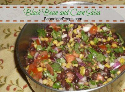 SchneiderPeeps - Black Bean and Corn Salsa