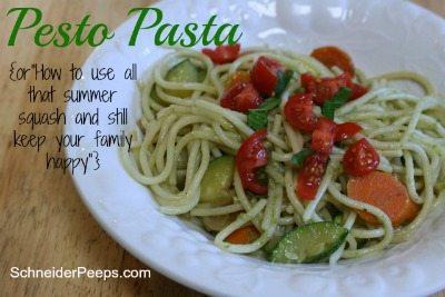 SchneiderPeeps - Pesto Pasta