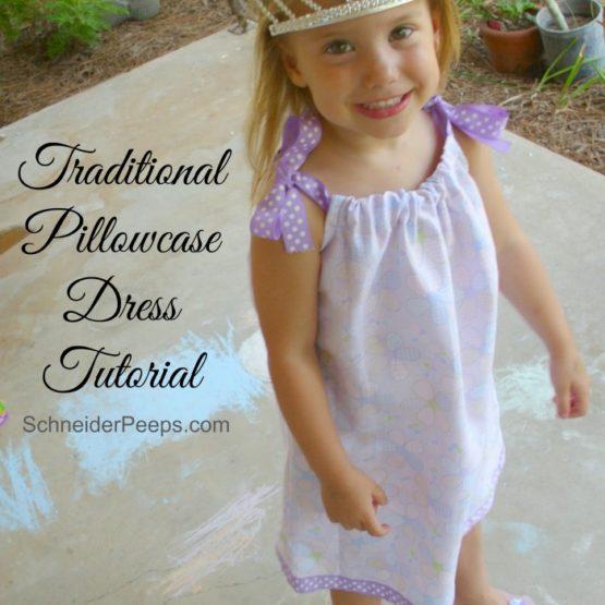 The Amazing Pillowcase Dress Sew~Along {Traditional Dress}