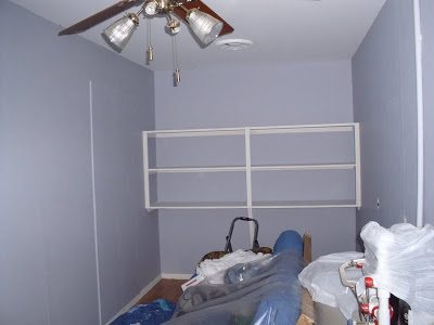 The Finished Room, Well, The Painting At Least. The Colors Are From Olympic  And Grey Is Called Hi Ho Silver And The White Is Snow Storm. I Really Like  Them.