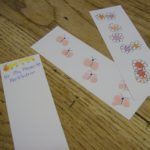 finger print bookmarks