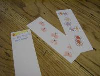 SchneiderPeeps - Fingerprint Art Bookmarks