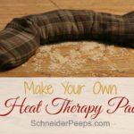 DIY Heat Therapy Pad {Handmade Christmas 2012}