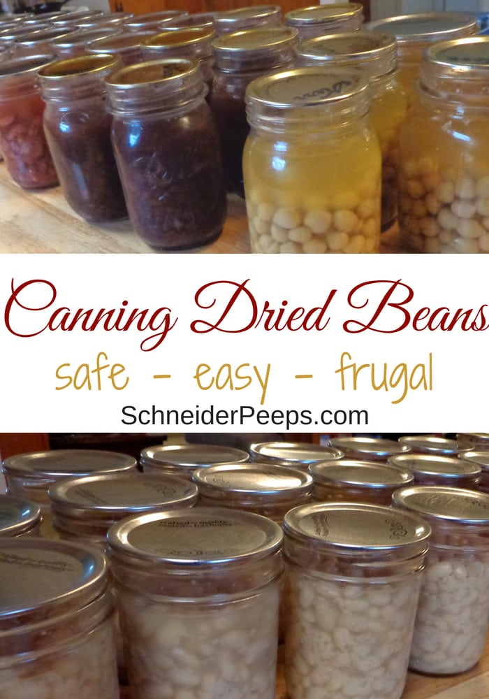 image of home canned black beans and other canned dried beans