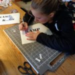 making fabric stencils