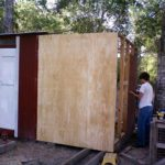 chicken coop expansion