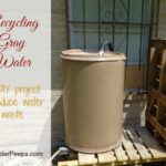 recycling water