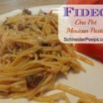 SchneiderPeeps - Fideo - One Pot Mexican Pasta