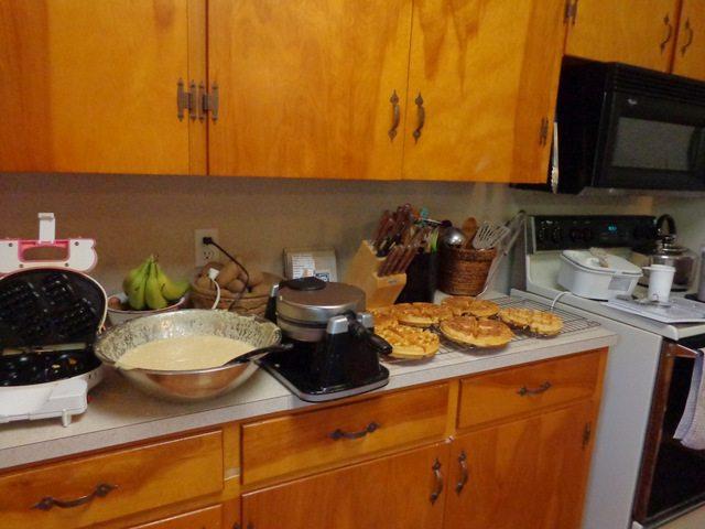 making snacks