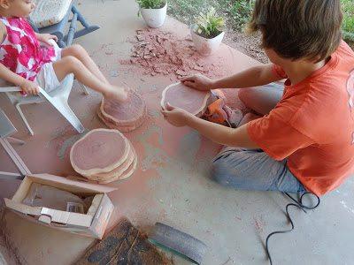 crafting begins