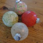 Decoupaged Christmas Ornaments (6)