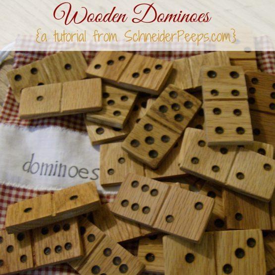 {wooden dominoes tutorial}