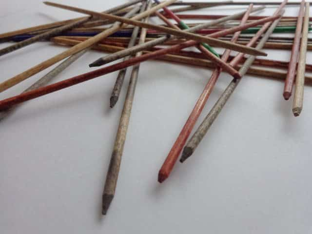 handmade pick up sticks game