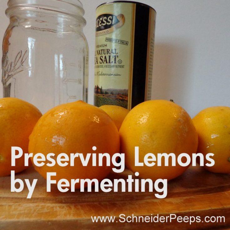 Fermented {Preserved} Lemons