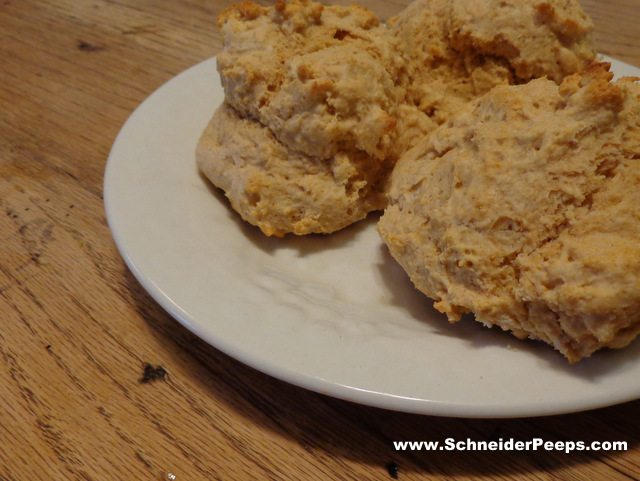 drop biscuits from homemade mix