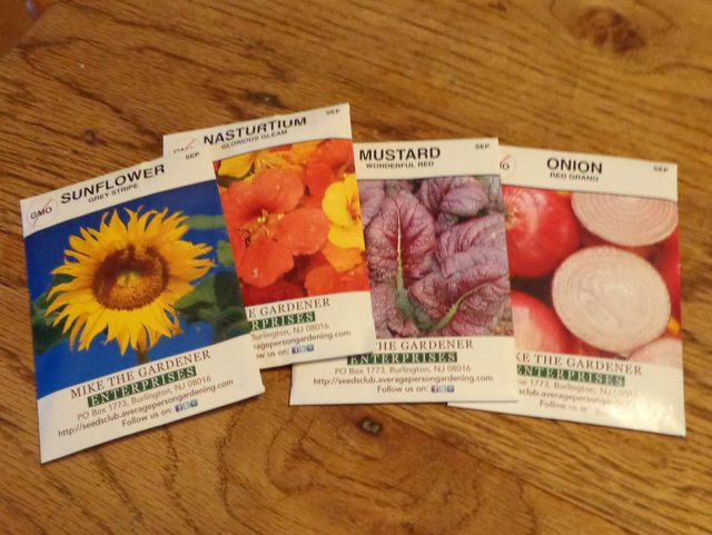 image of seed packets