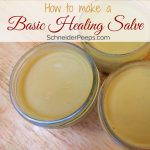 Making a basic healing salve is a quick and easy way to treat your family's cuts and scrapes. With just a few ingredients such as infused oil, beeswax and essential oils you make this right in your kitchen.