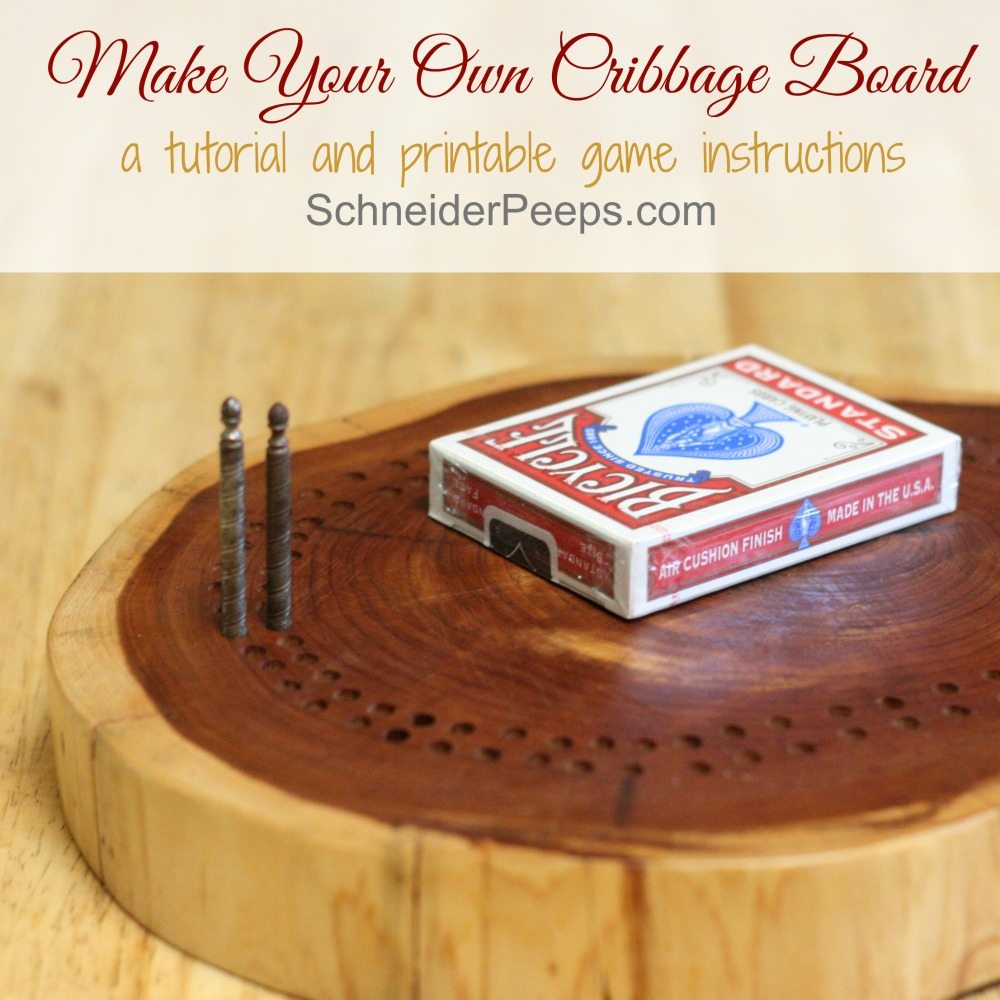 graphic regarding Printable Cribbage Boards known as Deliver Your Particular Cribbage Board SchneiderPeeps