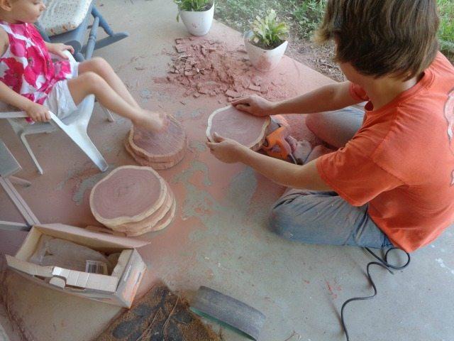 cribbage sanding