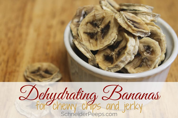 image of bowl of dried banana chips