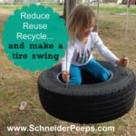 make a tire swing