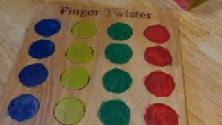 Finger Twister...with game instructions