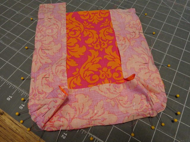 sewing front to sides