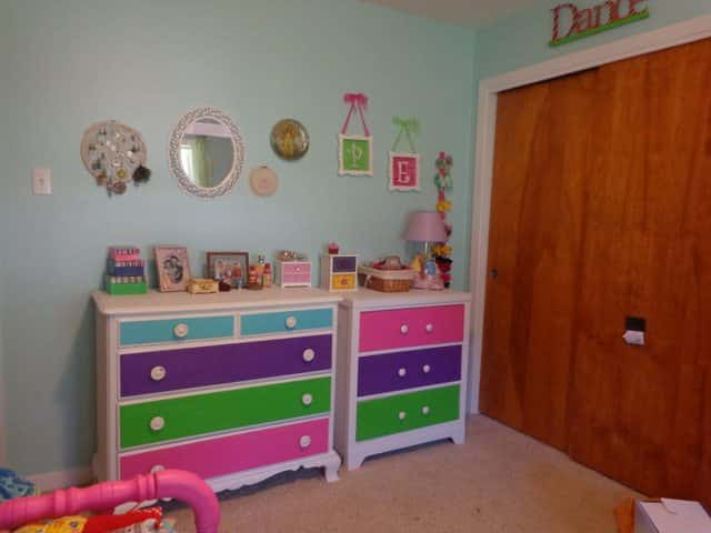 Girl's room update