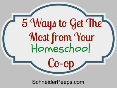 SchneiderPeeps How to get the most from your homeschool co-op