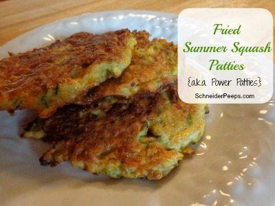 SchneiderPeeps - Fried Summer Squash Patties