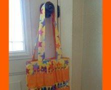 Crayon Tote Bag Tutorial