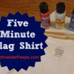 Make a Five Minute Flag Shirt