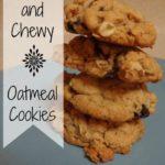 SchneiderPeeps - Soft Oatmeal Cookies