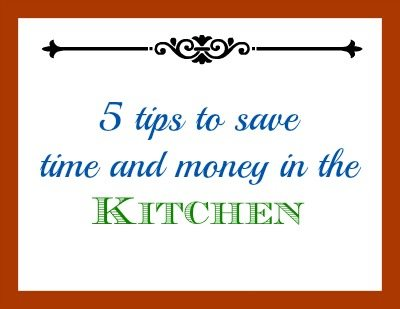 SchneiderPeeps 5 kitchen tips to save time and money