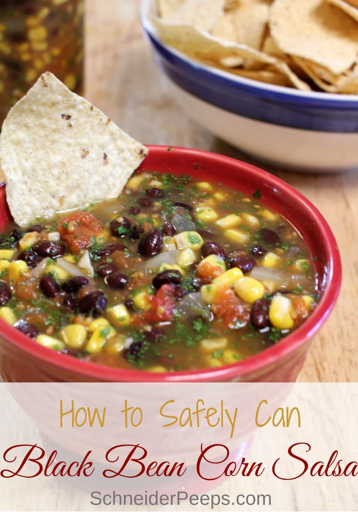 Canned Black Bean and Corn Salsa