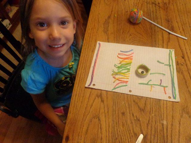 preschool crafting