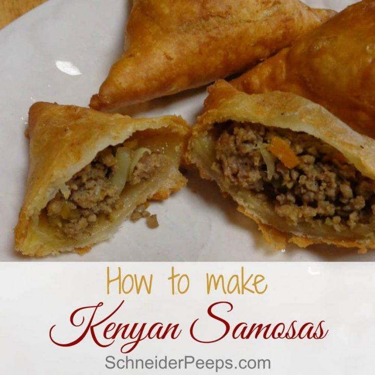 Kenyan Samosas Recipe