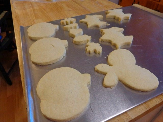 cookie cut outs for tie dye shortbread cookies