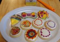 tie dye cookies - SchneiderPeeps