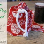 SchneiderPeeps - Fabric Gift Bag Tutorial