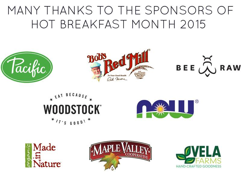 SchneiderPeeps  - February is National Hot Breakfast Month and we're teaming up with 10 bloggers and 8 sponsors to bring you some amazing hot breakfast recipes and ideas.