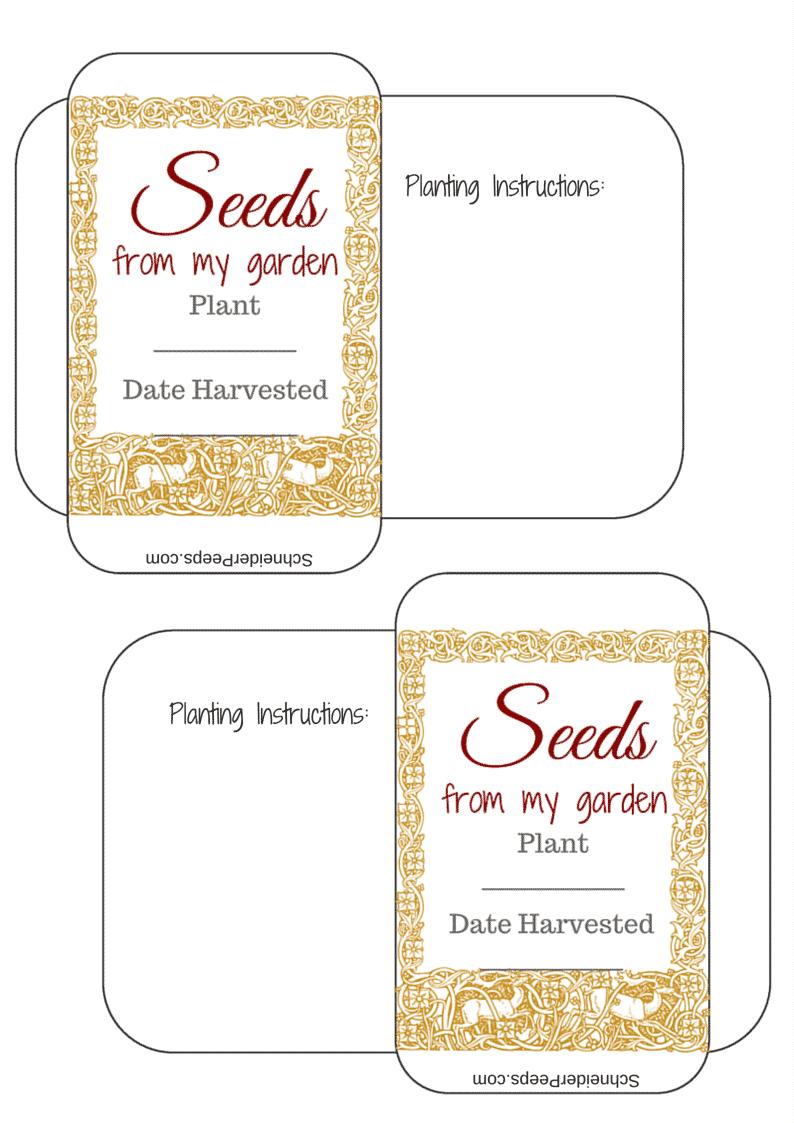 The Gardening Notebook | SchneiderPeeps