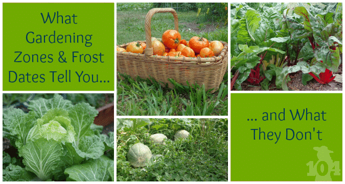 Gardening zones and frost dates are important but they don't tell you everything you need to know to have a successful garden.