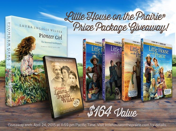 2015-03-03 - Little House on the Prairie - Prize Package Giveaway - Pinnable Image (1)