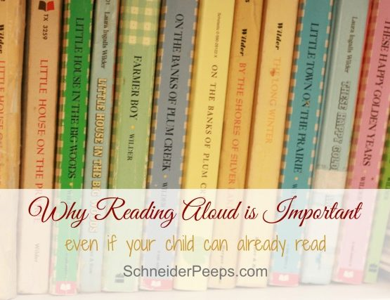 Why Reading Aloud to Your Child is a Good Thing